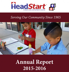 Head Start of Santa Clara and San Benito Counties Annual Report 2015-16