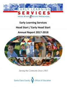 SCCOE Early Learning Services Annual Report 2017-18